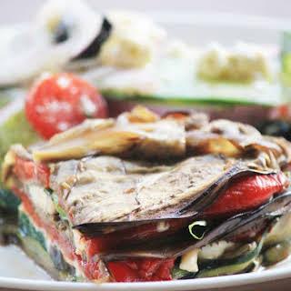 Roasted Vegetable Terrine Pie.