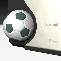 Air Vent Soccer  Ball Medallion - iHack 27