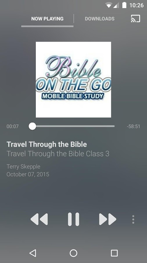 Bible On The Go- screenshot