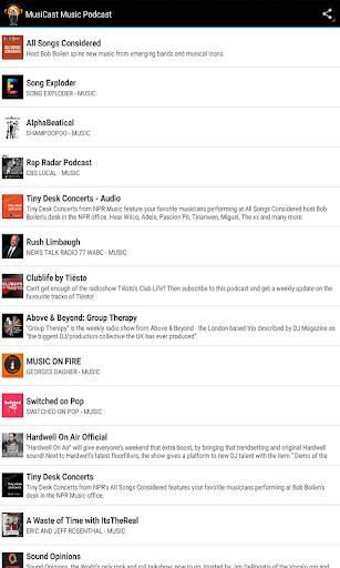 MusiCast Music Podcast