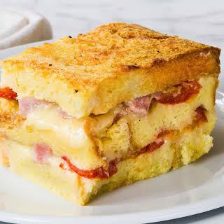 Ham and Cheese Breakfast Casserole.