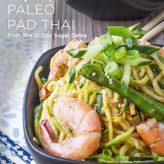 Paleo Pad Thai (with shrimp)