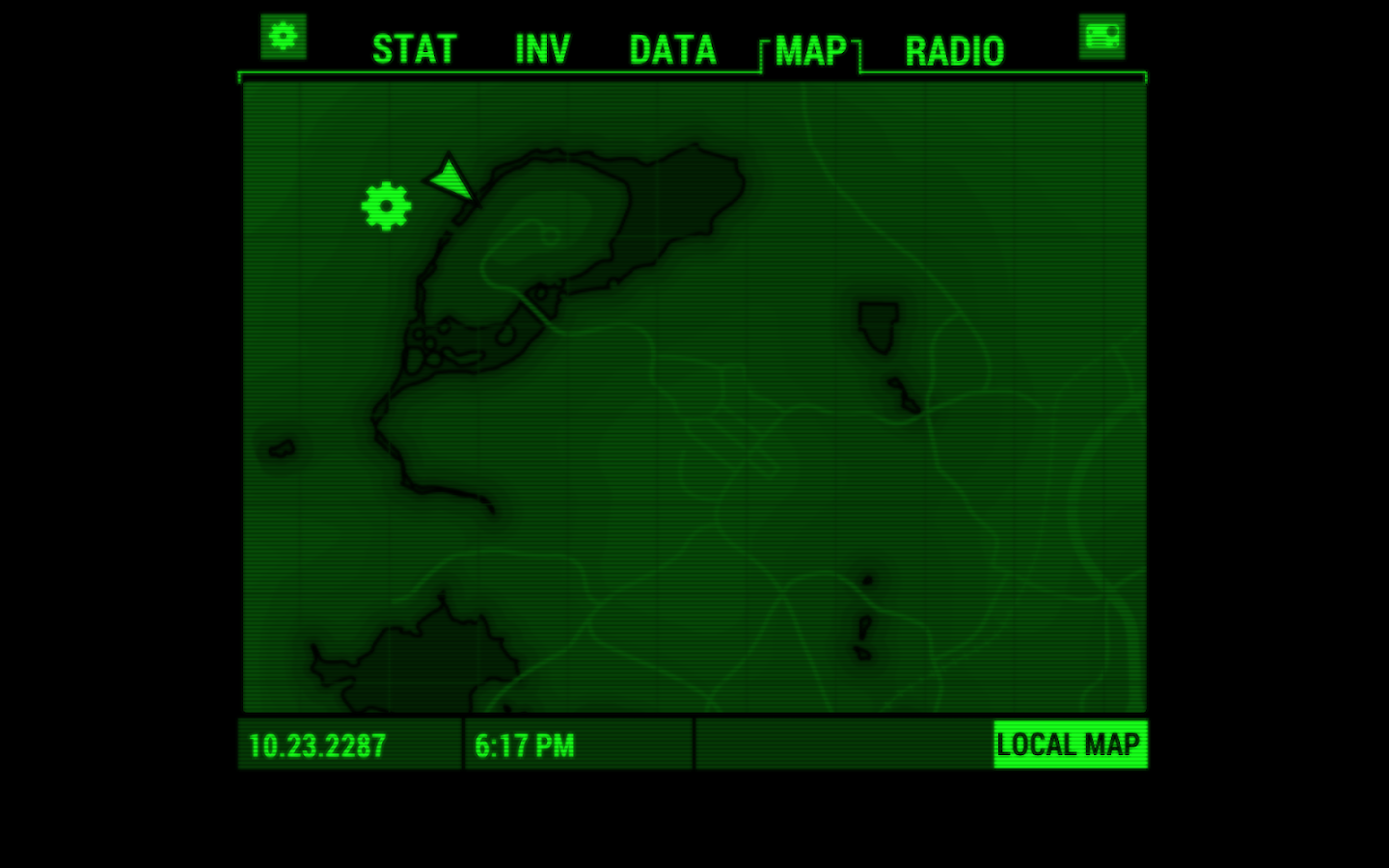 Fallout Pip-Boy- screenshot