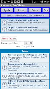 Grupos Wasap para whatsapp screenshot 4