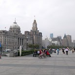 the Bund in Shanghai in Shanghai, Shanghai, China