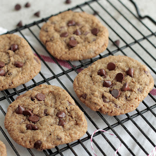 Soaked Chewy Chocolate Chip Cookie