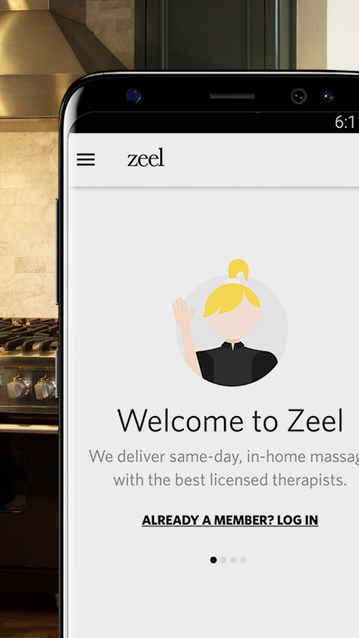 Zeel In-Home Massage Therapist- screenshot