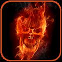 2D Skull Burn Live Wallpapers icon