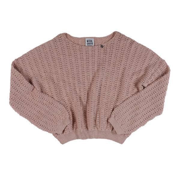 Pull Ajouré Knit Cropped Sunkissed - Enkel in 10 jaar