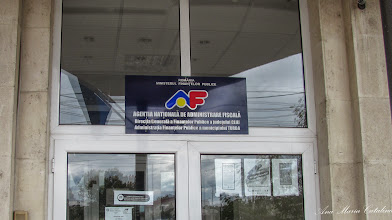 "Photo: Agentia Natioma de Administrare Fiscala - Piata Romana , Nr.5B, Bloc ""O"" - 2013.09.15"