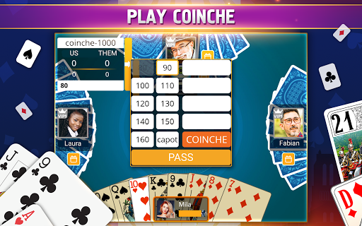 VIP Belote - French Belote Online Multiplayer 3.6.36 screenshots 12