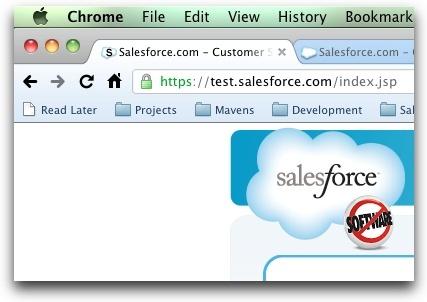 Salesforce.com Sandbox Favicon Extension