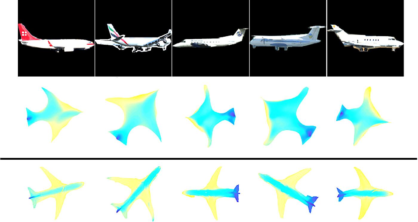 Машиноведение SurfNet создает 3D-модели из 2D-изображений