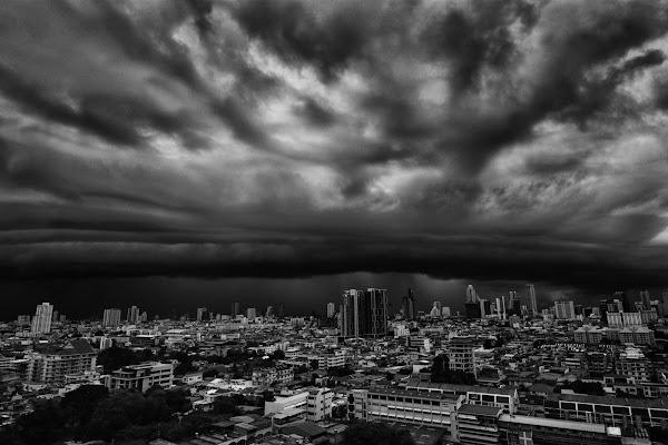Temporale su Bangkok di BastetC