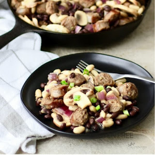Sausage and Beans Skillet.