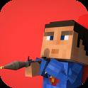 Blocky Superhero Man - Crime Battle Simulator icon
