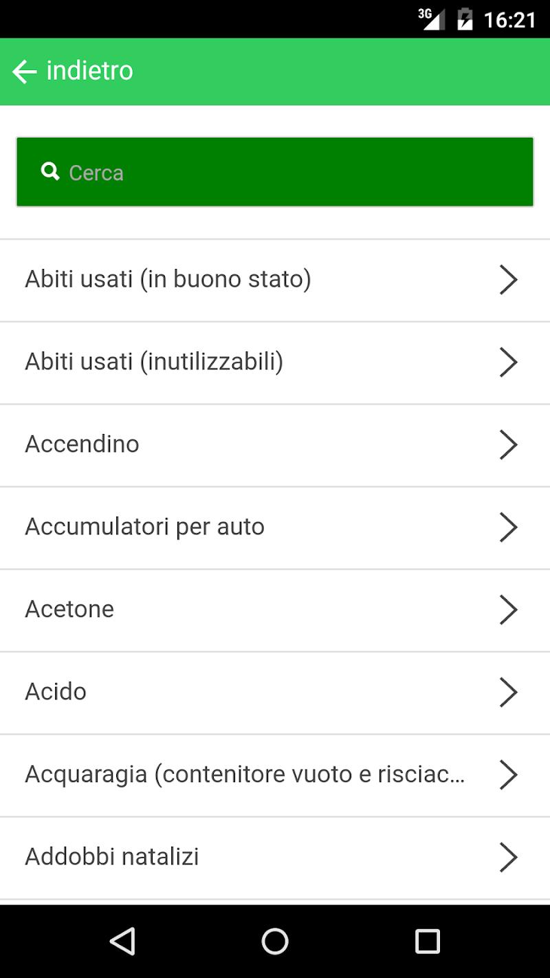Скриншот AmbienteApp