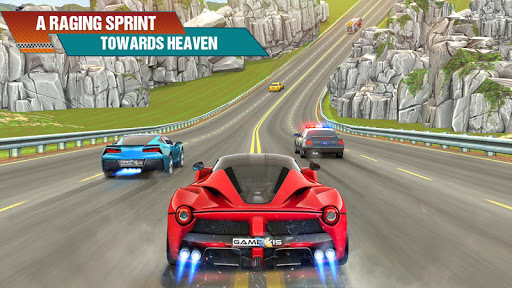 Crazy Car Traffic Racing Games 2020: New Car Games apkslow screenshots 1