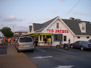 Photo: We had delicious ice cream at Ted Drewes