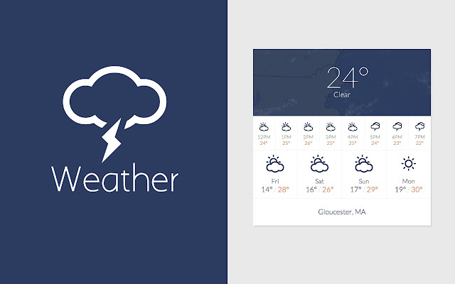 Weather chrome web store hands down the best way to get your weather in chrome stopboris Image collections