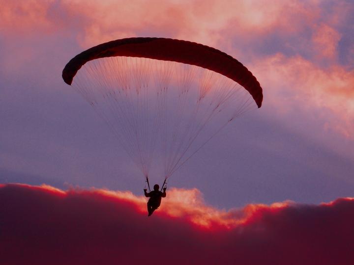 In volo verso il tramonto. di fr4ssetto