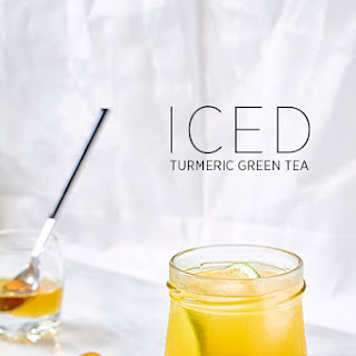Iced Turmeric Green Tea