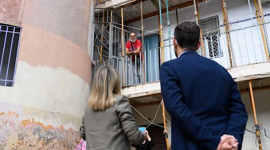 Objetivo El Patio: conseguir la comunidad de propietarios para que haya obra