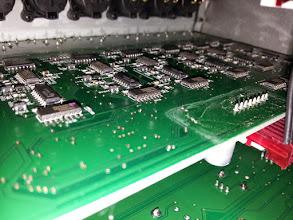 Photo: Output board crustiness