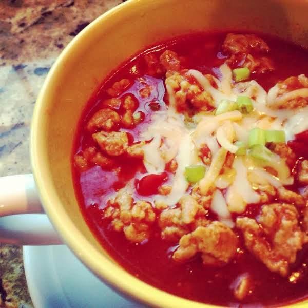 Healthy Chicken Chili