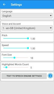 Text Voice Text-to-speech and PDF Reader - náhled