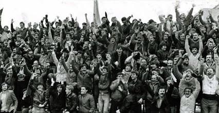 Photo: Navijaci Orijenta, 80-ih godina