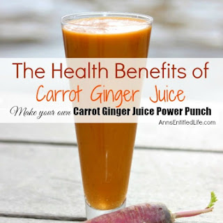 Carrot Ginger Juice Power Punch