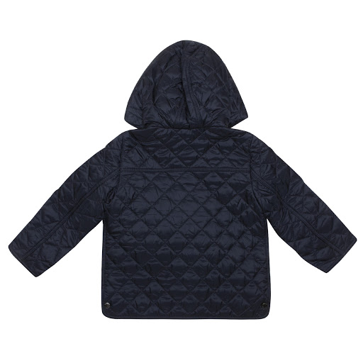 Thumbnail images of Burberry Navy Quilted Jacket