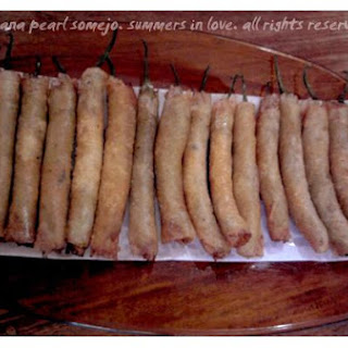 Lumpia With Sweet Dip