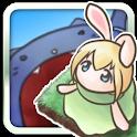 うさぎとモンスター [フリックジャンプゲーム] icon