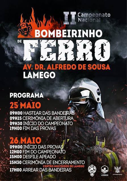 II Campeonato Nacional Bombeirinho de Ferro 2019 em Lamego