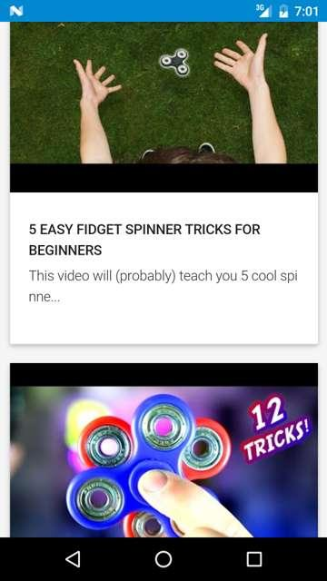 Fidget Spinner Tricks- screenshot