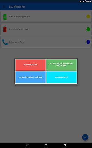 LED Blinker Benachrichtigungen - Steuer dein Licht screenshot 11