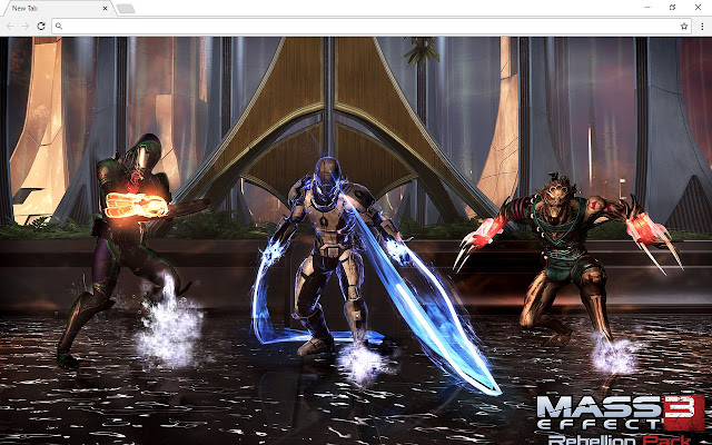 Mass Effect Backgrounds & New Tab
