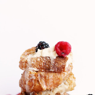 5 Ingredient Vegan French Toast.