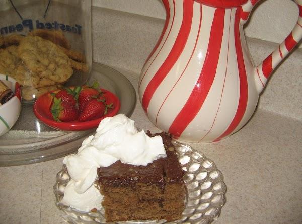 Sour Cream Chocolate Banana Cake Recipe