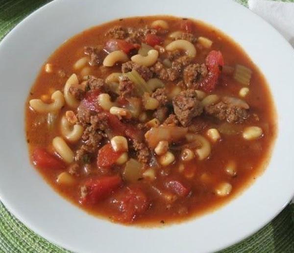 Steak Soup Recipe