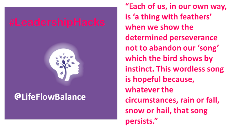 #LeadershipHacks  @lifeflowbalance