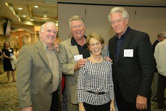 Photo: ?, George Perdue, Patsy (Goodstein) Martin, Tom Bailey