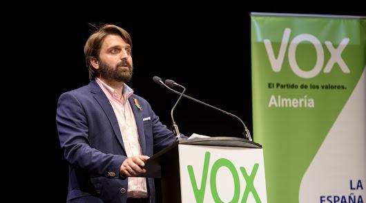 Otro diputado almeriense de VOX da positivo por coronavirus