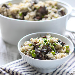 Slow Cooker Mushroom Risotto