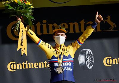 """Roglic heeft nu al ritzege beet: """"In tweede rit bewezen dat ik klaar ben, maakt mij niet uit dat Alaphilippe geel heeft"""""""