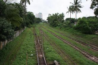 Photo: Year 2 Day 54 - Train Tracks in Yangon