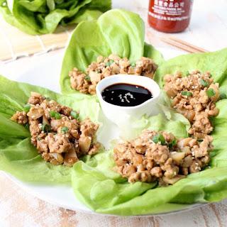 Healthy Turkey Lettuce Wraps.
