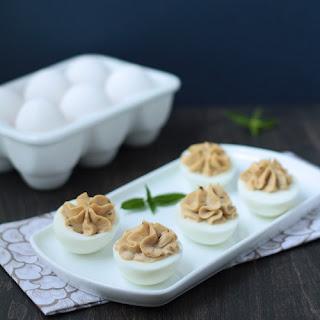 Mediterranean Deviled Eggs (Low Carb Recipe).